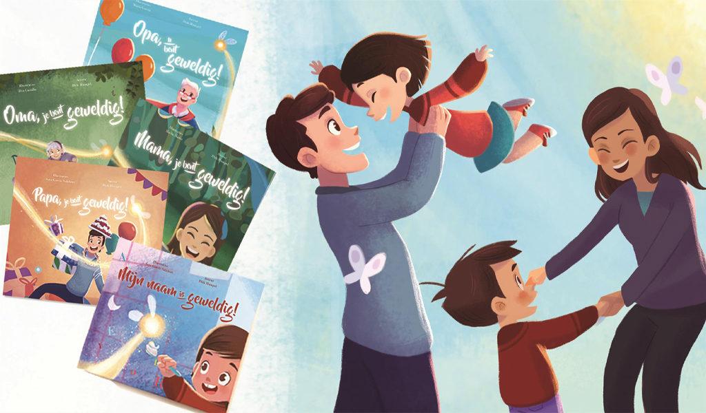 Voucher voor persoonlijk kinderboek