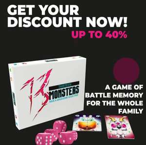 [Black Friday] 13 Monsters the game