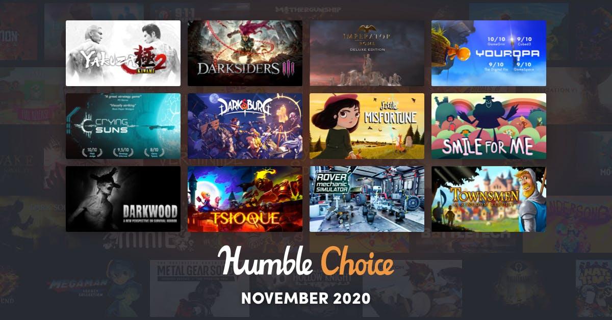[Black Friday] 1e jaar Humble Bundle Choice Premium