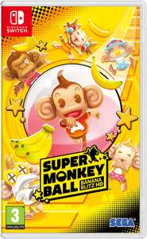 Super Monkey Ball: Banana Blitz HD Switch @Amazon.nl en Wehkamp