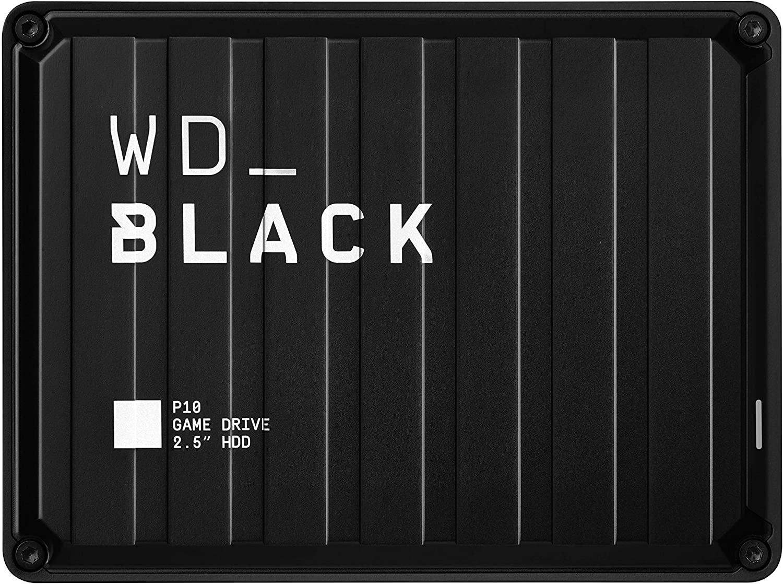 Western Digital WD_BLACK 5 TB P10 Game Drive