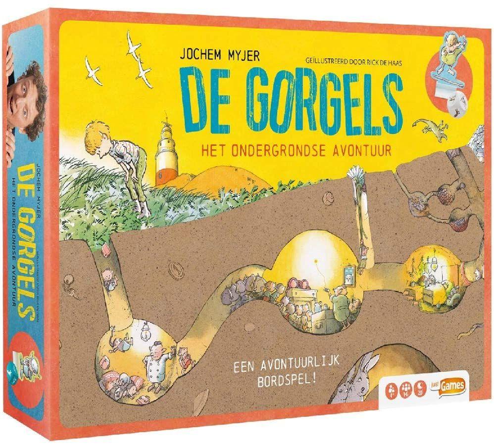 De Gorgels - Het Ondergrondse Avontuur, bordspel