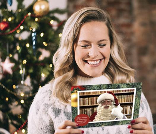 Kerstkaart versturen voor 1 cent! Met postnl, Oma post en hallmark