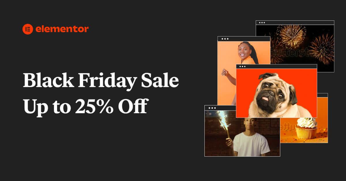 [Black Friday] Elementor Pro tot 25% korting