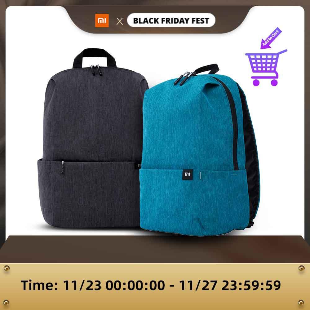 2st Xiaomi 10l rugzak zwart & blauw