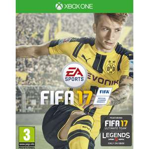 Fifa 17 x-box one € 2,95 ongekend goedkoop