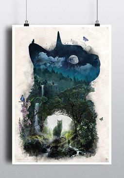 Qwertee Pop Art Prints 32 x 45 cm
