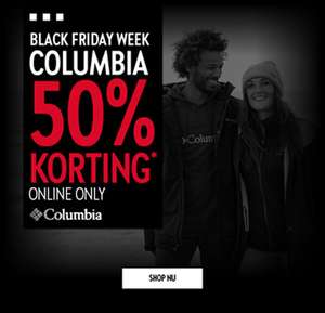 Black Friday: Columbia -50% @ Perry