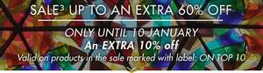 10% EXTRA korting @ Yoox