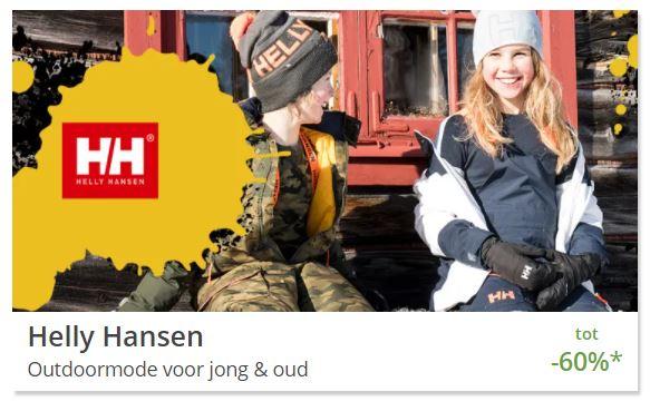 Helly Hansen [o.a. jassen] tot 64% korting @ Limango