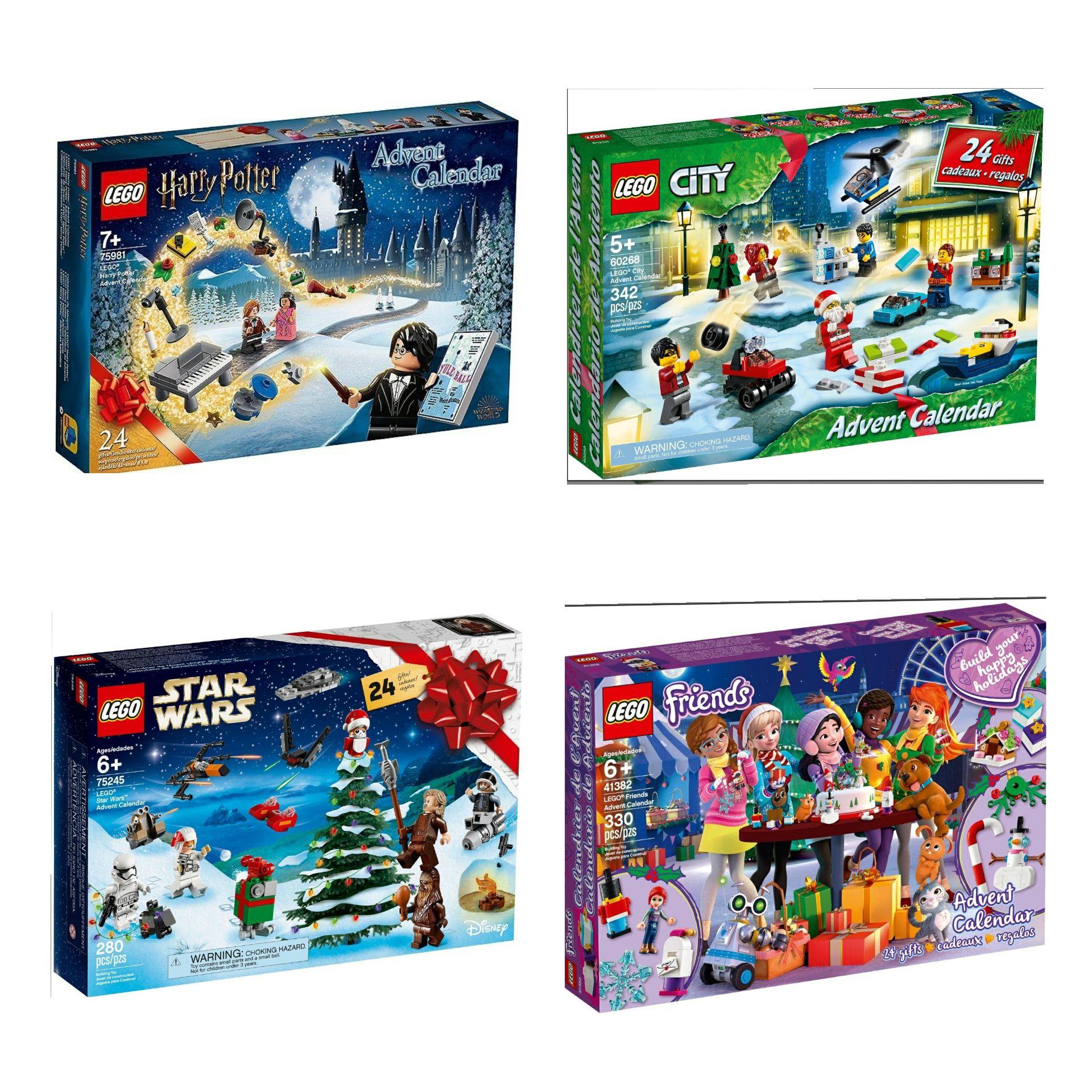 LEGO ADVENTCALENDER diverse (zie tekst)
