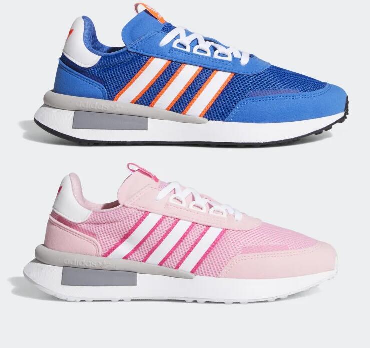 Adidas Retroset sneakers blauw of roze voor €32,70 + gratis verzending @ Adidas app