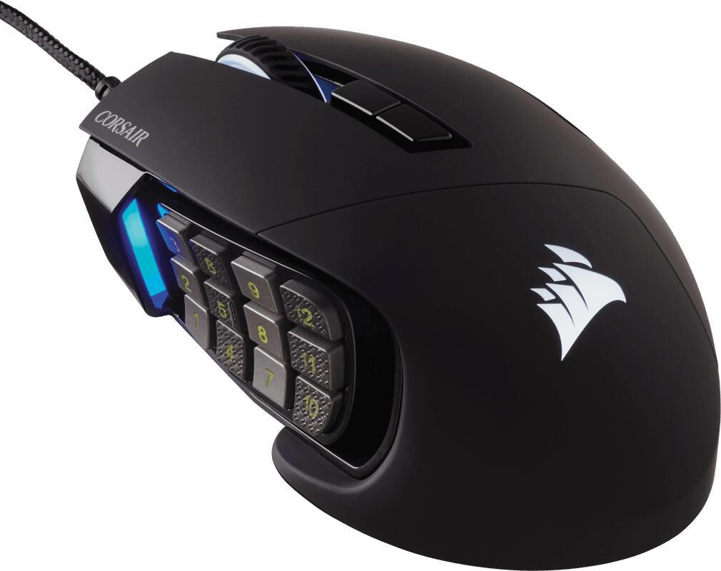 Corsair Scimitar RGB Elite Gaming Muis
