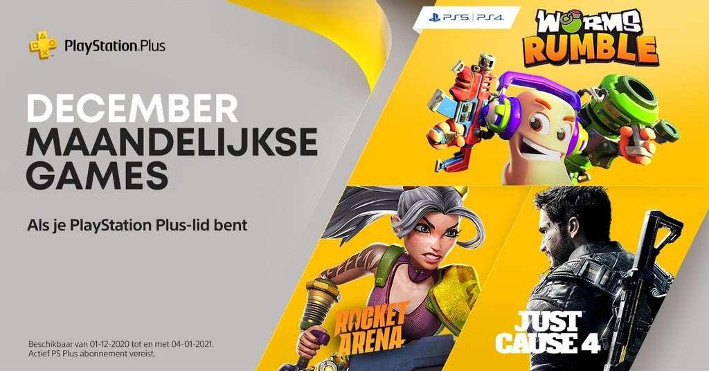 PlayStation Plus games voor december 2020