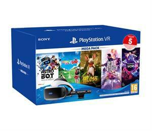PlayStation VR Mega Pack 3 + Camera + 5 Games