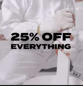 25% korting Black Friday SALE bij SneakerBAAS