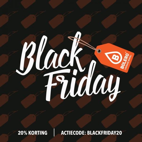 Black Friday: 20% korting + gratis Bolero bag*