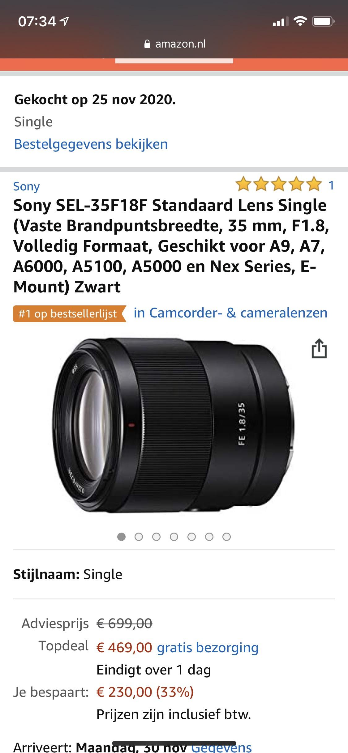 Sony SEL35F1.8