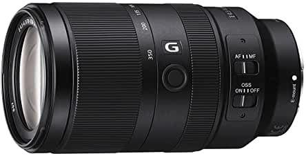 Sony E 70-350mm en andere APS-C zoom lensen in de aanbieding op amazon