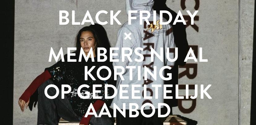 24uur Eerder Toegang Tot Black Friday Sale @ Winkelstraat