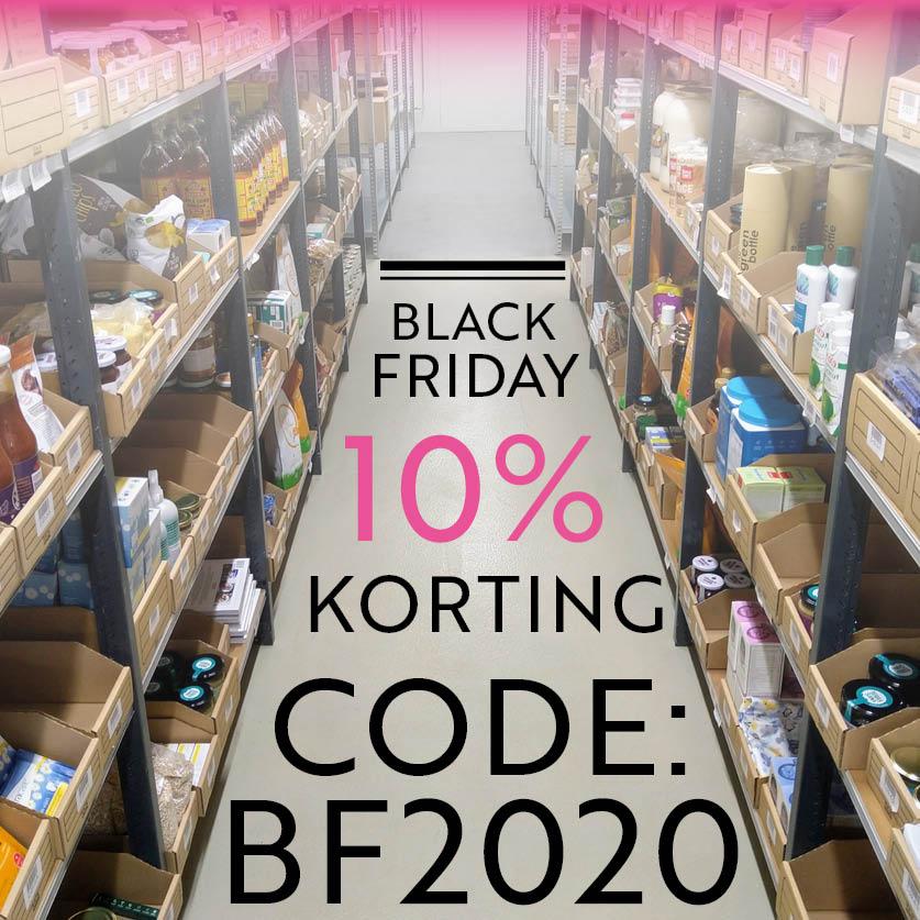De hele week 10% Black Friday korting bij Puurmieke.nl