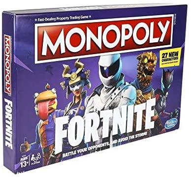 Monopoly Fortnite Engels met Nederlandse handleiding