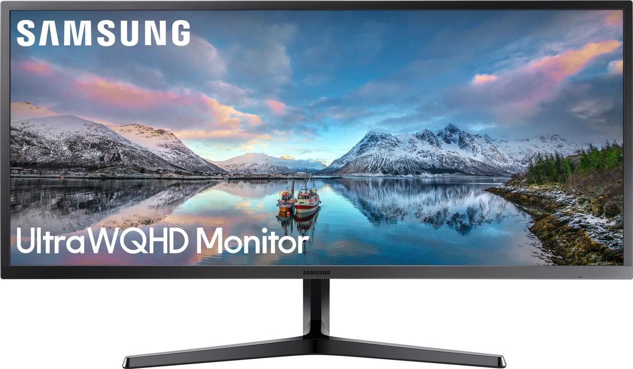 """Samsung LS34J550WQU -- 34"""" 3440x1440 60Hz VA 4ms Monitor"""