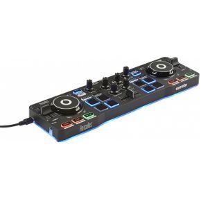 (Megekko) Hercules Starlight DJ-controller Zwart CD scratcher 2 kanalen