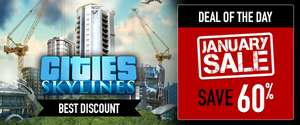 Cities: Skylines Deluxe Edition 60% off @ Bundle Stars