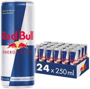 Red Bull Energy Drink, Voordeelverpakking 24 X 250 ml (Regular / Sugarfree)