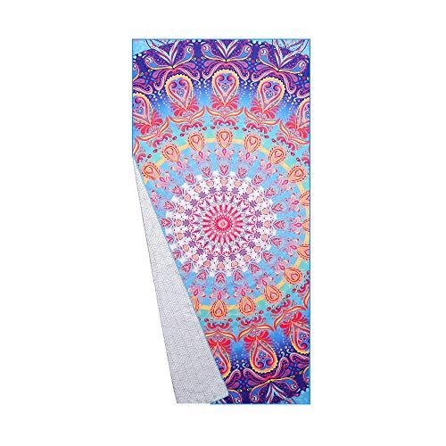 Hippe kleurrijke handdoek bij Amazon.de
