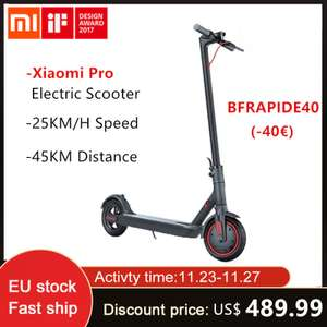 Xiaomi Mijia M365 Pro Electric Scooter Smart E Scooter 45KM Battery