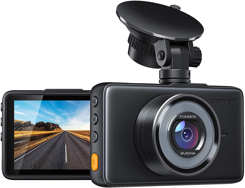 APEMAN Dashcam 1080P Full HD