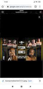 Gratis kijken bij AD: Mike tyson vs Roy jones jr