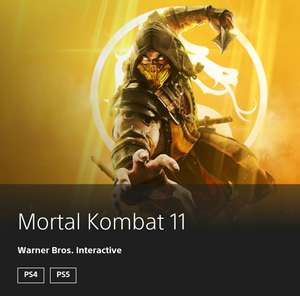 Mortal Kombat 11 PS4/PS5
