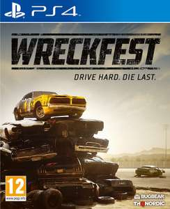 Wreckfest (€17,99 voor PS4; €19,99 voor Xbox One)