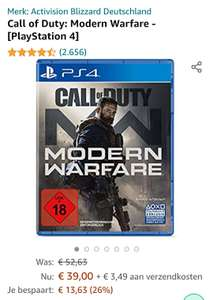 Call of Duty: Modern Warfare - PS4 - Amazon.de