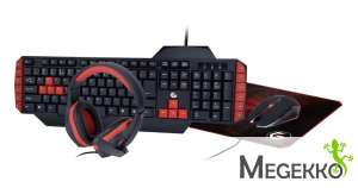 Gembird Ultimate 4-in-1 Gaming Kit