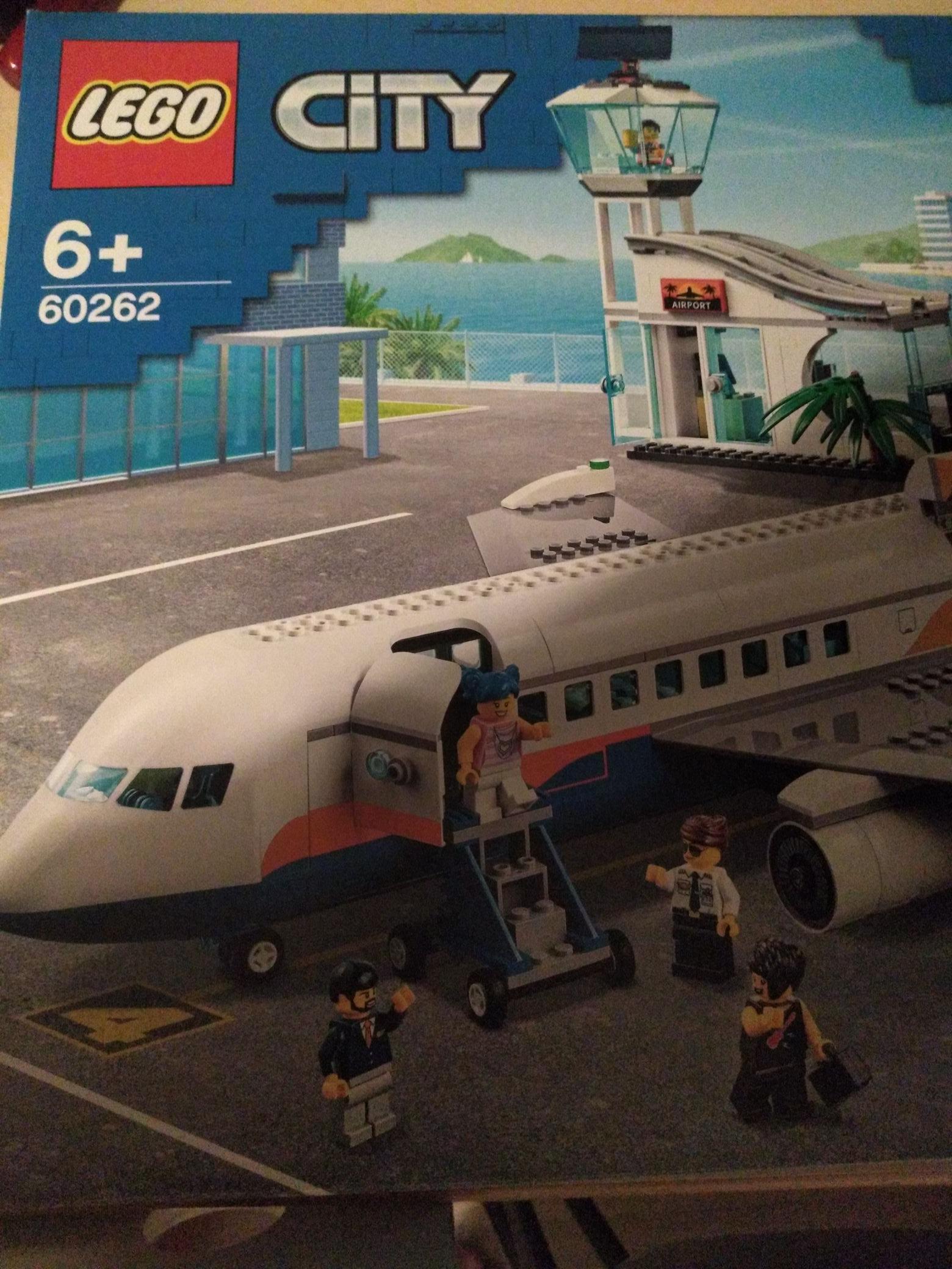 Lego city passagiersvliegtuig @amazon.nl 60262