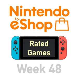 Nintendo Switch eShop aanbiedingen 2020 week 48 (deel 1/2) games met Metacritic score