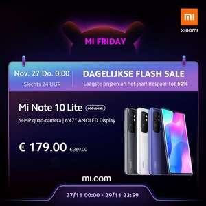 Flash sale Xiaomi mi note 10 lite