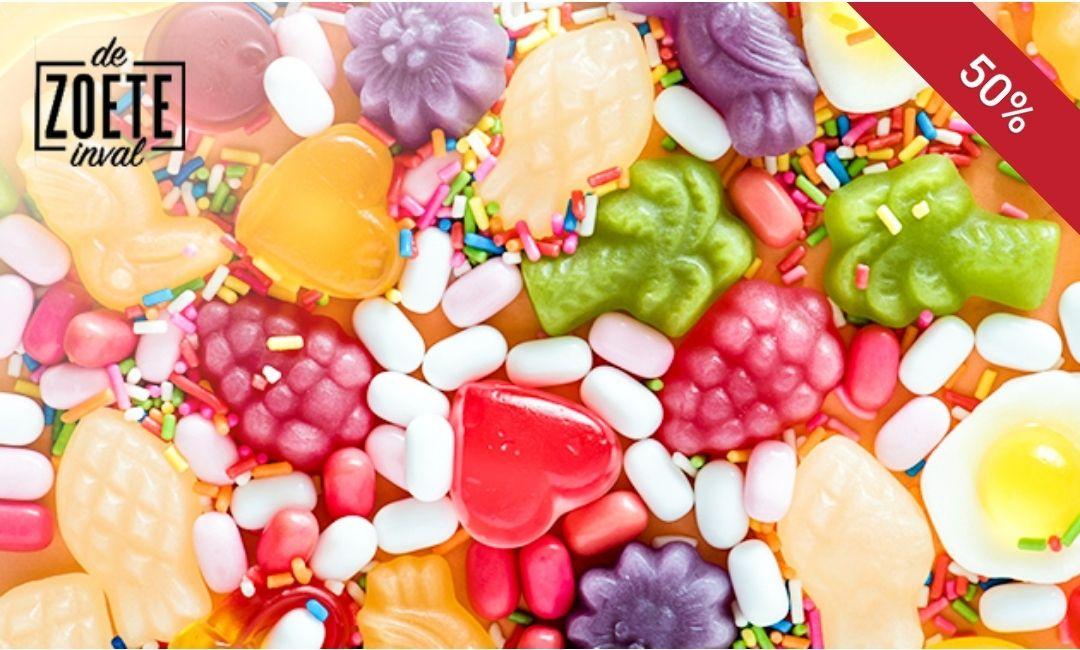 Snoepgoed bij de Zoete inval in Helmond