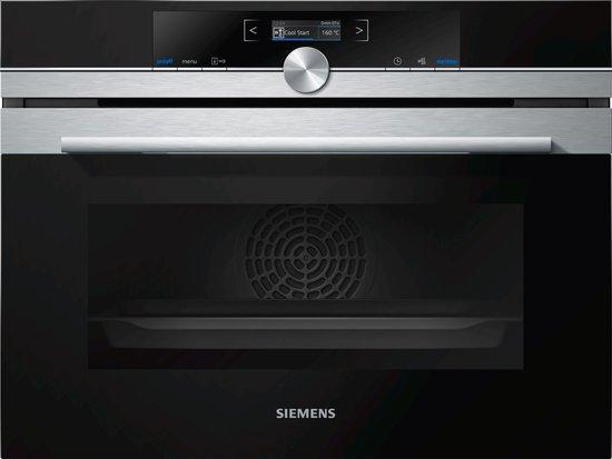 Siemens CB634GBS3 iQ700 Compacte inbouw oven - bol.com