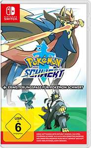 Nintendo Switch Pokemon Sword + Expansion Pass Duitse editie @amazon.de