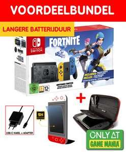 Nintendo Switch Fortnite Wildcat Edition met verbeterde batterijduur - Game Mania Starter Bundel