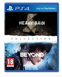Heavy Rain & Beyond Two Souls collection (PS4) voor €37,25 @ 365games.co.uk