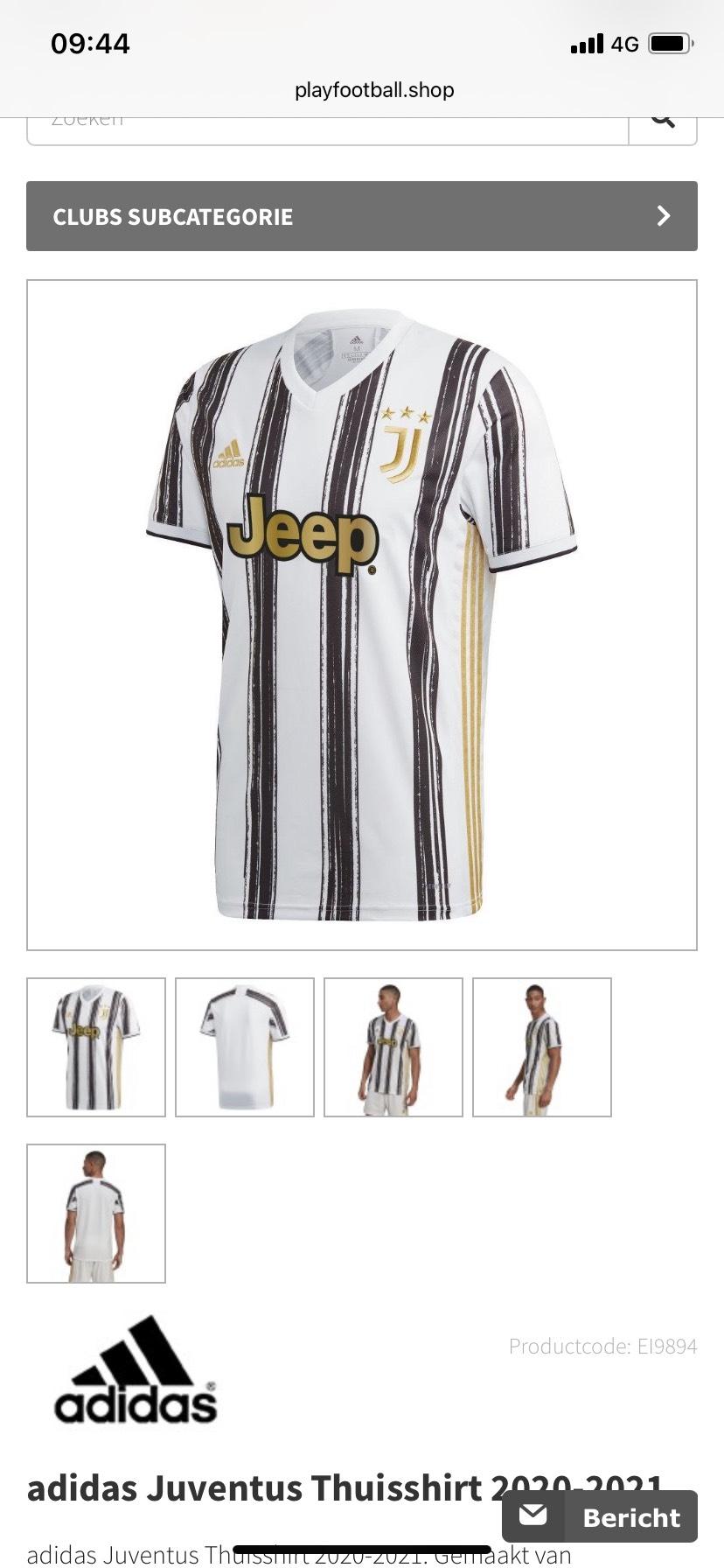 Juventus shirt 2020/2021