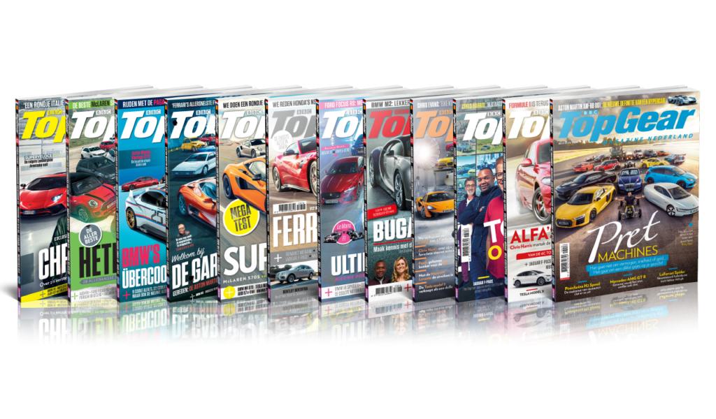 Tot 65% korting op Topgear Magazine bundels