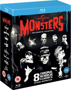 Universal Classic Monsters boxset (8 films) (Blu-ray) voor €16,51 @ Zavvi