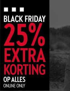 Black Friday: 25% [EXTRA] korting op ALLES @ Perry